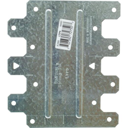 Simpson Strong-Tie 4-1/2 in. W. x 5-1/8 in. L. Galvanized Steel 20 Gauge Tie Plate