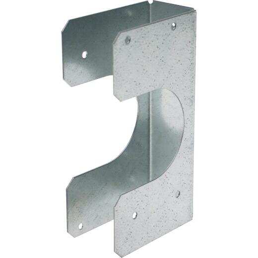 Simpson Strong-Tie 2x Galvanized Steel 16 Gauge Stud Shoe