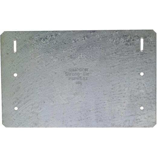 Simpson Strong-Tie 5 in. W x 8 in. L Galvanized Steel 16 Gauge Protection Plate
