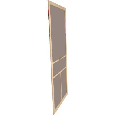 Snavely Kimberly Bay 36 In. W. x 80 In. H. x 1 In. Thick Natural Fingerjoint Pine T-Bar Screen Door