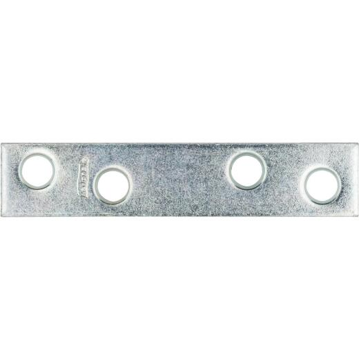 National Catalog 118 3 In. x 5/8 In. Zinc Steel Mending Brace