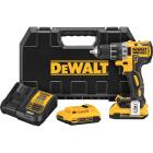 DeWalt 20 Volt MAX XR Lithium-Ion Brushless 1/2 In. Cordless Drill Kit Image 1