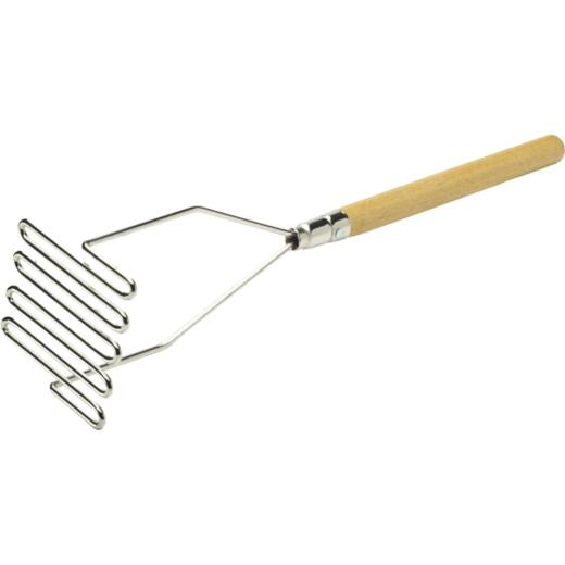 Marshalltown Drywall & Paint Steel 14 In. Mud Mixer, Wood Handle