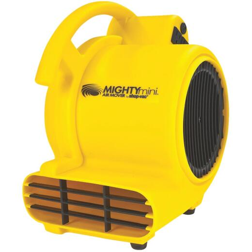 Shop Vac Mighty Mini 3-Speed 3-Position 500 CFM Air Mover Blower Fan