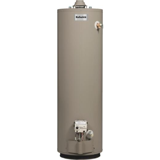 Reliance 40 Gal. Tall 6yr 35,500 BTU Natural Gas Water Heater