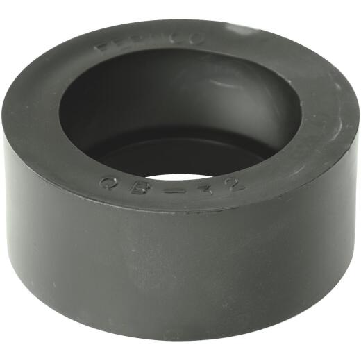Fernco 2 In. x 1-1/2 In. PVC Sewer and Drain Bushing