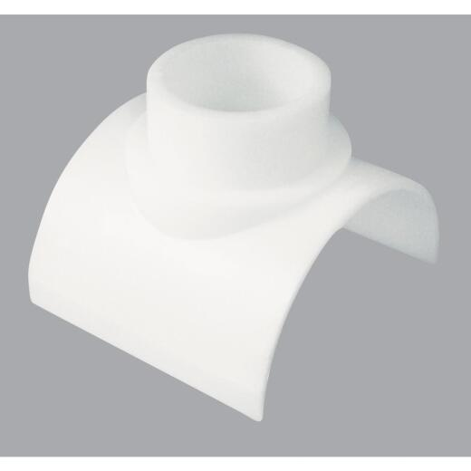 Genova 4 In. x 1-1/2 In. PVC Sewer and Drain Saddle Tee