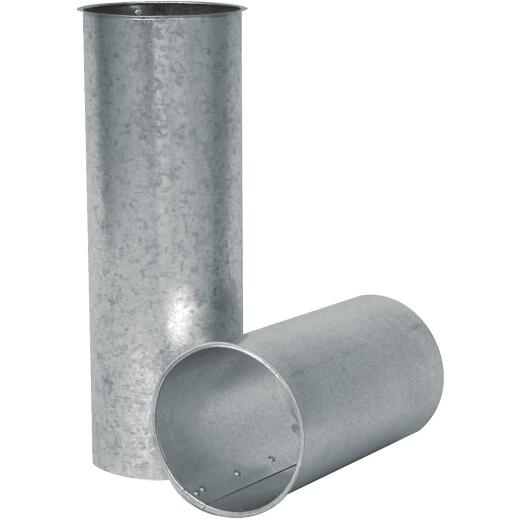 Imperial 28 Ga. 6, 7 or 8 In. Adjustable Galvanized Chimney Thimble