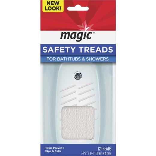 Magic 7.5 In. X 0.75 In. Bathtub Safety Treads