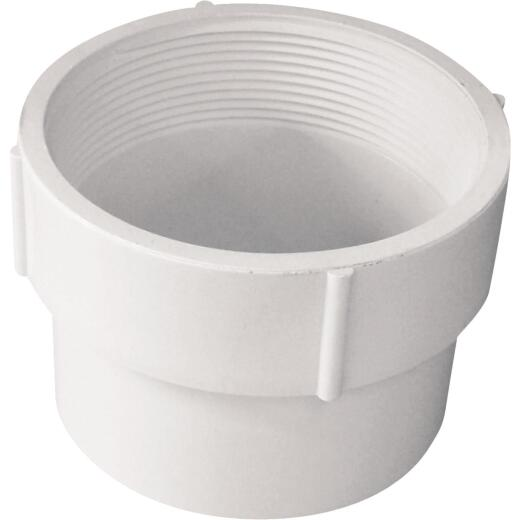 Genova 4 In. Female PVC Sewer and Drain Adapter