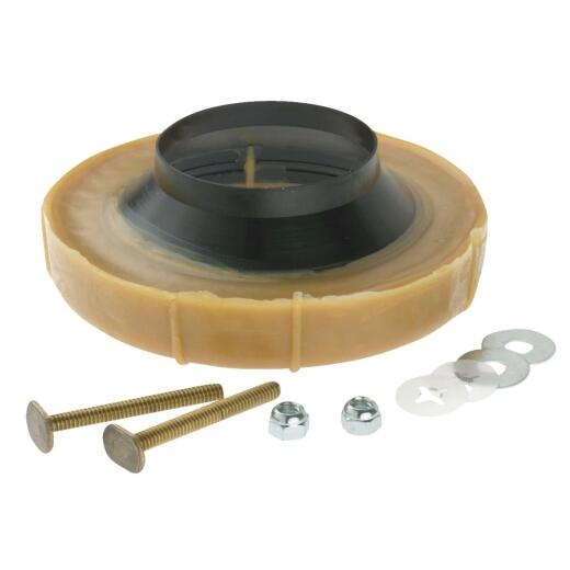 No-Seep No. 1 Flanged Wax Ring Bowl Gasket with Bolts