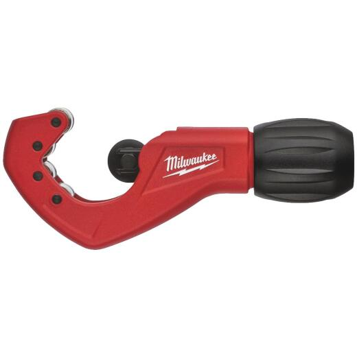 Milwaukee 1 In. Constant Swing Copper Tubing Cutter, 1/8 In. to 1-1/8 In. Pipe Capacity