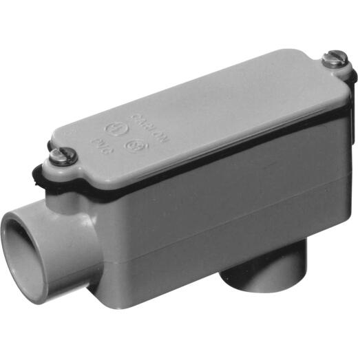 Carlon 2 In. PVC LB Access Fitting