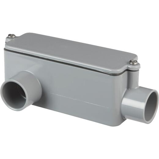 Carlon 3/4 In. PVC LR Access Fitting