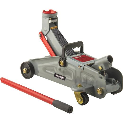 Pro-Lift 1-1/2-Ton Compact Trolley Floor Jack