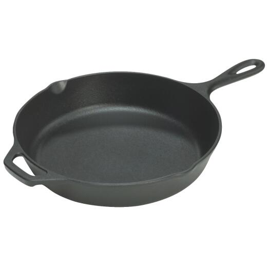 Lodge 13-1/4 In. Cast Iron Skillet with Assist Handle