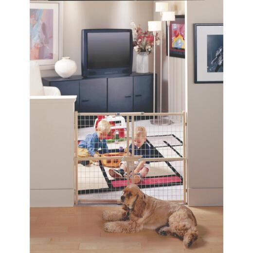 North States 29 In. to 50 In. Expandable Wood Safety Gate