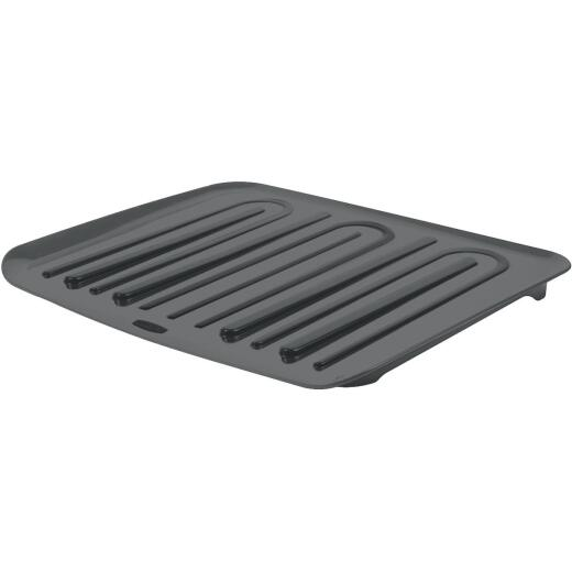 Rubbermaid 14.7 In. x 18 In. Black Sloped Drainer Tray