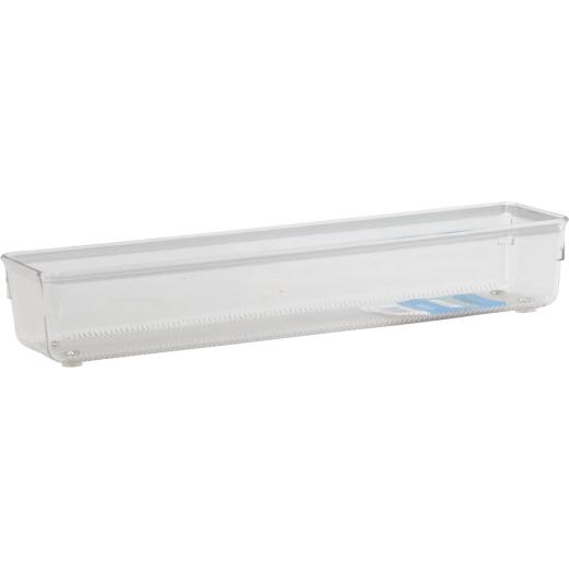 Interdesign Linus 3 In. x 12 In. x 2 In. Clear Drawer Organizer