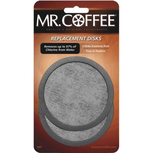 Mr. Coffee Replacement Water Filter Disc (2-Pack)