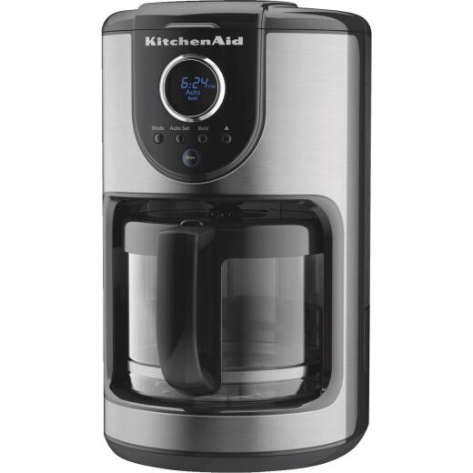 KitchenAid Black 12 Cup Coffee Brewer