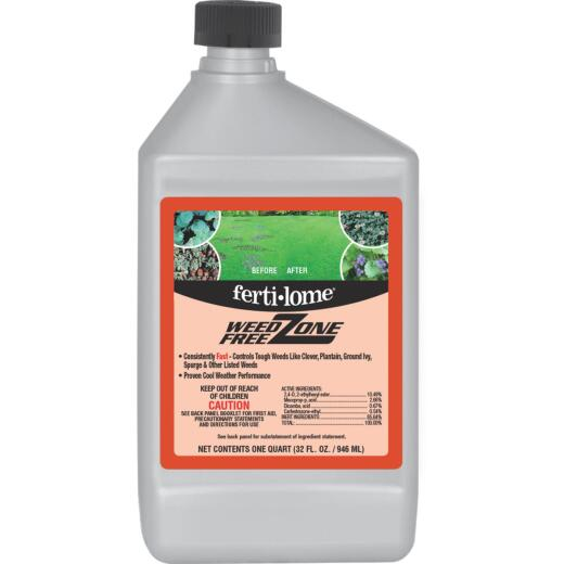 Ferti-lome Weed Free Zone 32 Oz. Concentrate Weed Killer