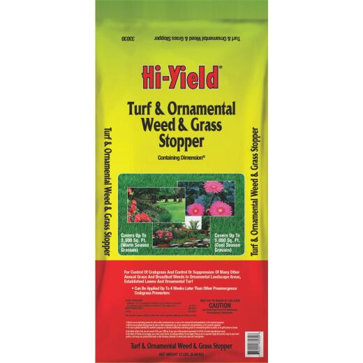 Hi-Yield 12 Lb. Ready To Use Granules Crabgrass & Weed Killer