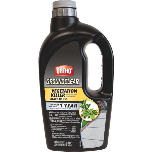 Ortho GroundClear 1 Qt. Ready To Use Vegetation Killer