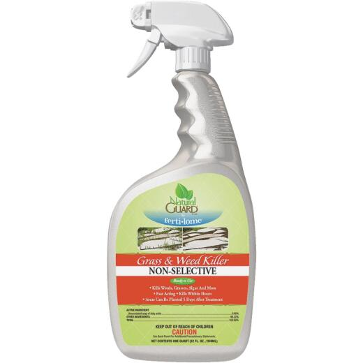 Natural Guard 1 Qt. Ready To Use Trigger Spray Weed & Grass Killer