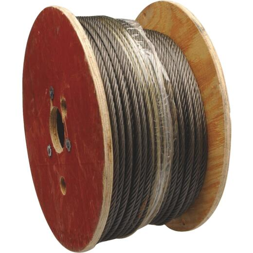 Campbell 1/4 In. x 500 Ft. Fiber Core Wire Cable