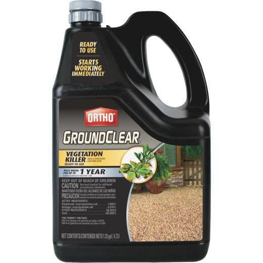Ortho GroundClear 1.25 Gal. Ready To Use Vegetation Killer