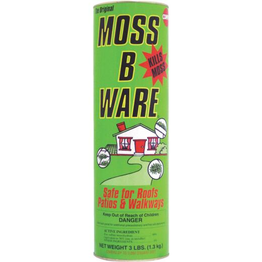 Corry's Moss-B-Ware 3 Lb. Ready To Use Granule Moss & Algae Killer