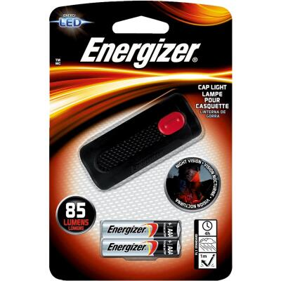 Energizer LED Portable Clip-On Cap Light