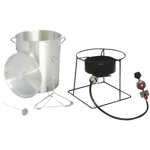 Metal Fusion King Kooker 30 Qt. Aluminum Turkey Outdoor Fryer