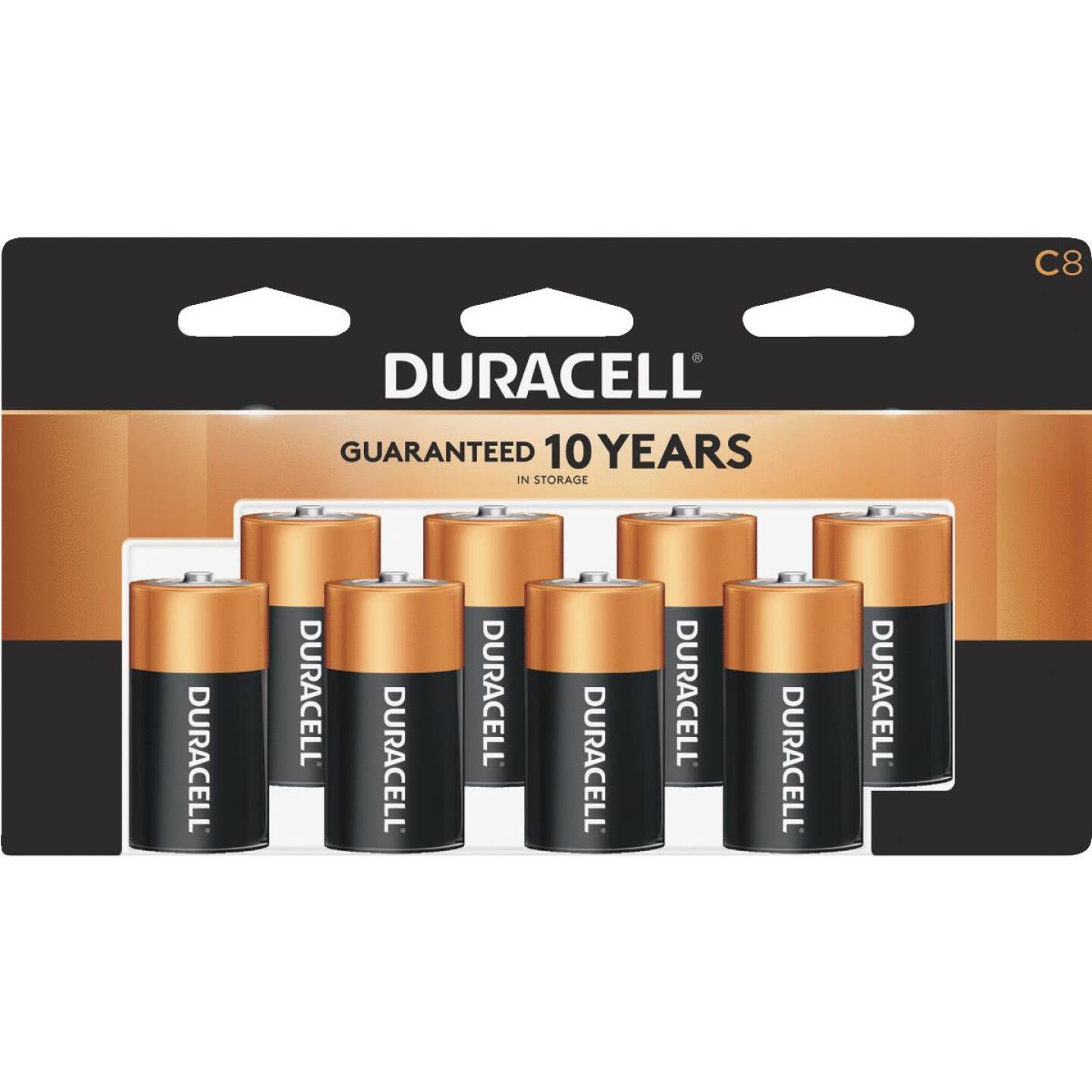 Duracell CopperTop C Alkaline Battery (8-Pack) Image 1