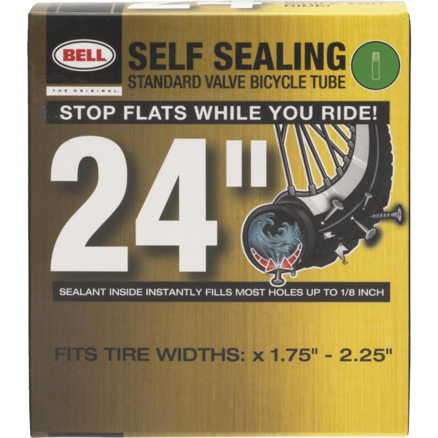 Bell Sports 24 In. Self-Sealing Bicycle Tube Image 1